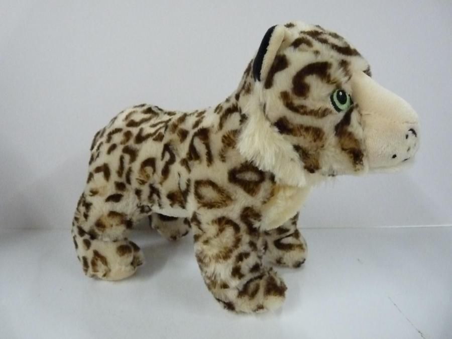 Fido's Pet Bazaar Sally Snow Leopard - Large